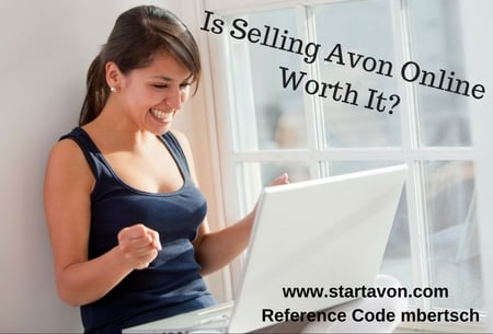 Is Selling Avon Worth It? Can you make money selling Avon? Is it a good idea to sell Avon? #makemoneyblogging #BloggingDirectSales #DirectSalesBlog #MomBloggers