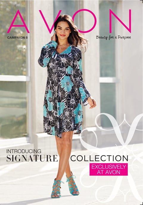Shop Avon Online Campaign 8 2016 - FREE Shipping