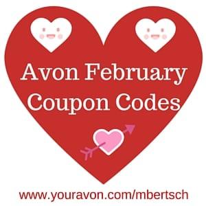 Avon February 2016 Coupon Codes