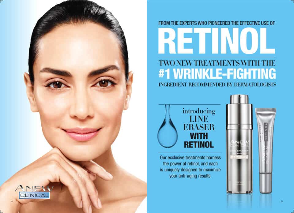 Avon Skin Care Products with Retinol