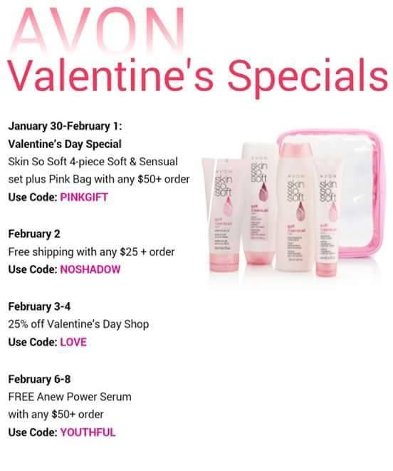 Avon Valentines Coupon