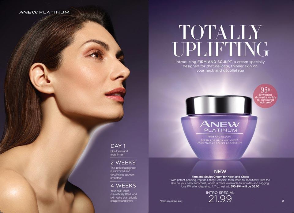 Avon Anew Platinum Firm And Sculpt Neck Amp Chest Cream