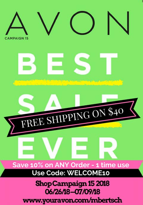 Avon Campaign 15 2018 Brochure