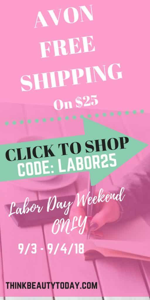 Avon free shipping Labor Day 2018 #avonfreeshipping #avon #LaborDayWeekend #LaborDaySale #LaborDay2018 #LaborDay