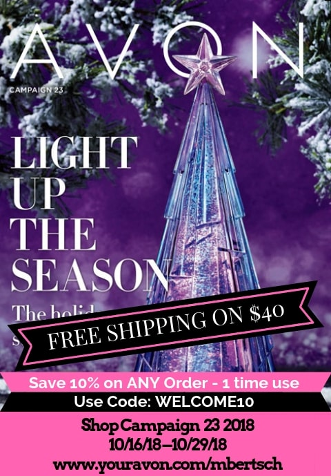 Avon First Christmas Brochure 2018 - Campaign 23 #AvonChristmas #AvonChristmas2018 #AvonChristmasBrochure2018 #ShopAvon