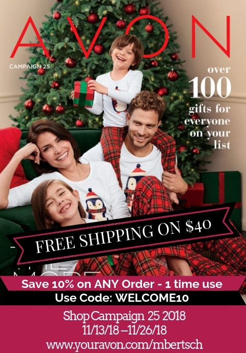 Avon Catalog Campaign 25 2018. Shop the latest Avon Brochure for Christmas gifts and stocking stuffers. #AvonCatalog #AvonCampaign252018 #AvonBrochure #AvonCatalog2018 #AvonChristmasCatalog #AvonChristmas2018 #shopavon #AvonRepresentative #AvonLady #AvonRep