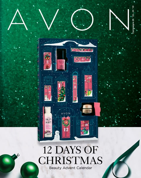 Avon Catalog Campaign 1 2019 Flyer - 12 Days of Christmas Deals Online