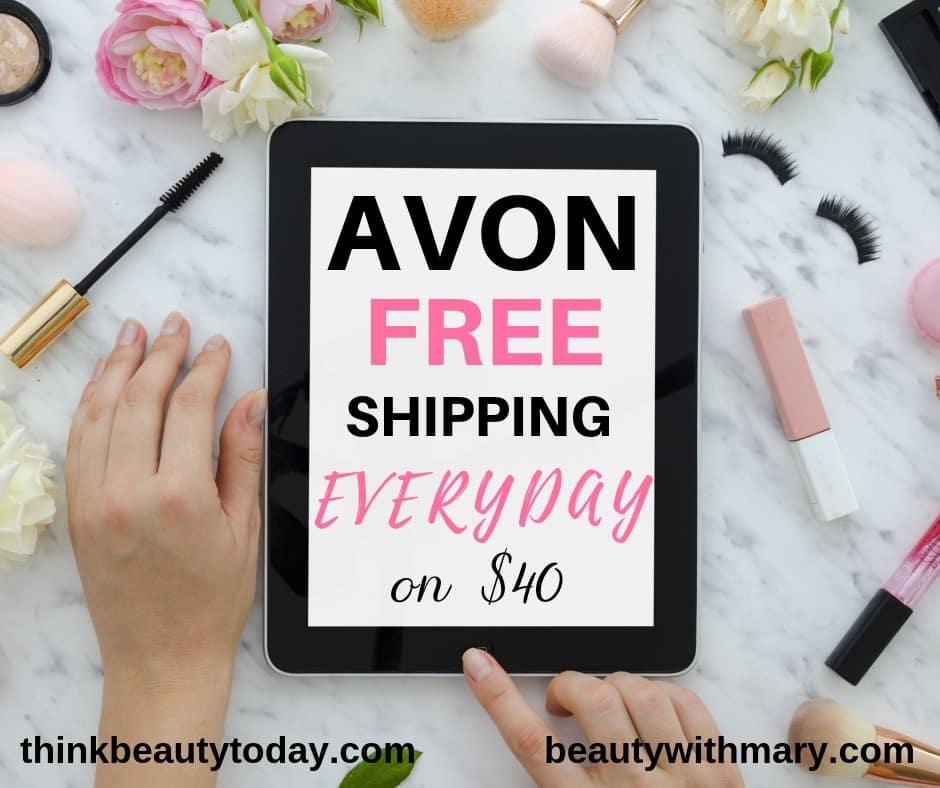 Avon free shipping 2019