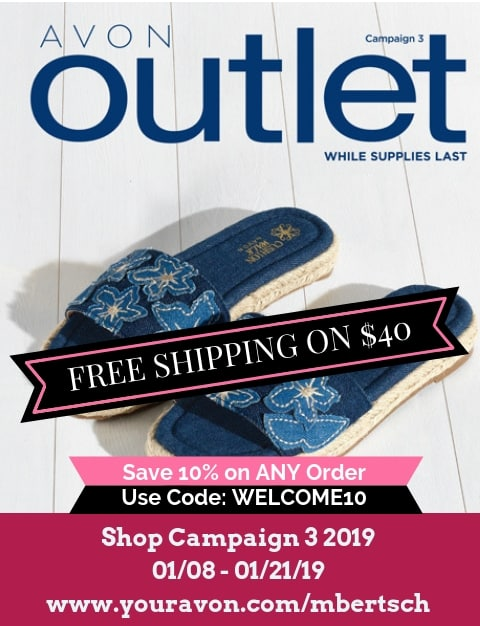 Avon Outlet 2019 - Catalog for Campaign 3 2019 - Discounted / Clearance Avon Products - Limited Time Offers