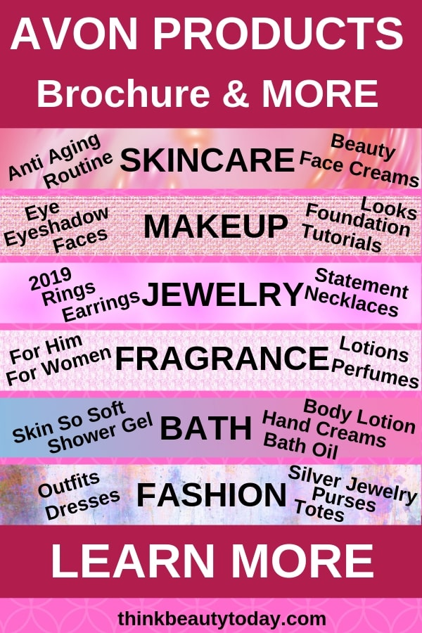 Avon Products to shop online: skincare, makeup, jewelry, fragrance, bath, fashion
