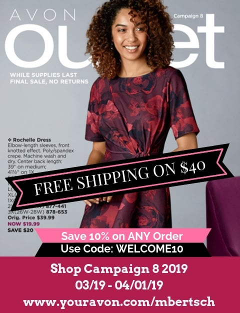 Avon Clearance Outlet 2019 - Catalog for Campaign 8 2019 - Discounted / Clearance Avon Products - Limited Time Offers